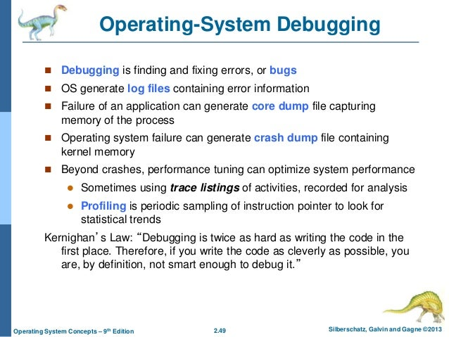 How to write code for operating system