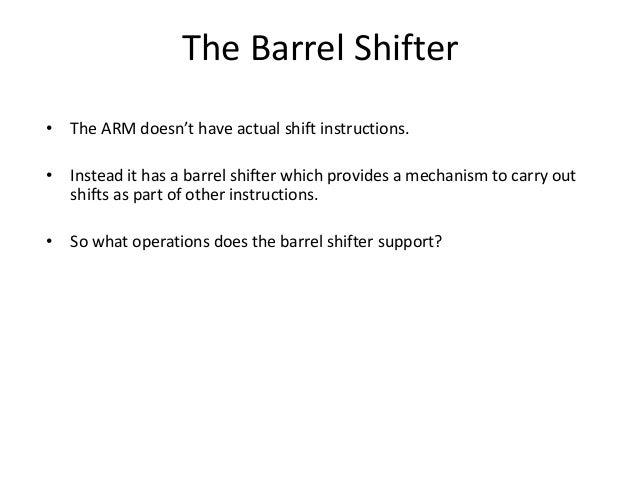 orr arm instruction example