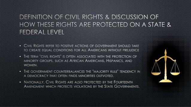 Civil Liberties vs. Civil Rights