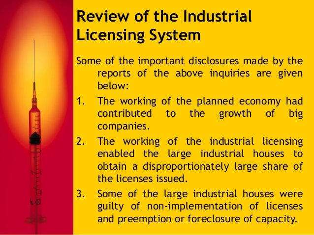 important objective of industrial policy and licensing Objectives for government intervention still other socio-economic objectives may include things like industrial policy as noted above is an important type.
