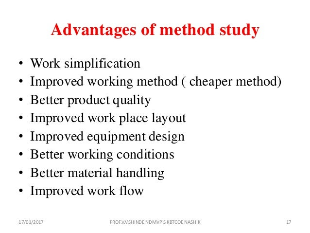 Work Study: Meaning, Productivity & Work Study