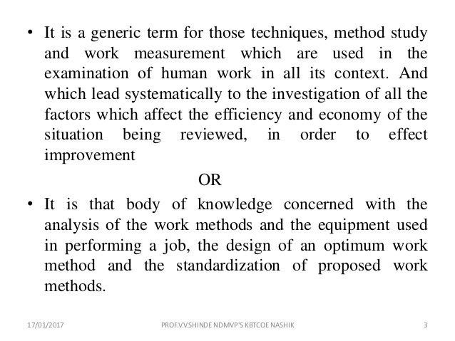 Methods engineering | Article about methods engineering by ...