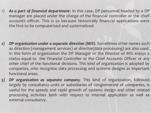 management information systems unit 3 ip T he concept of management information system mis unit there was no regular system of to make the mis system digital for family planning.