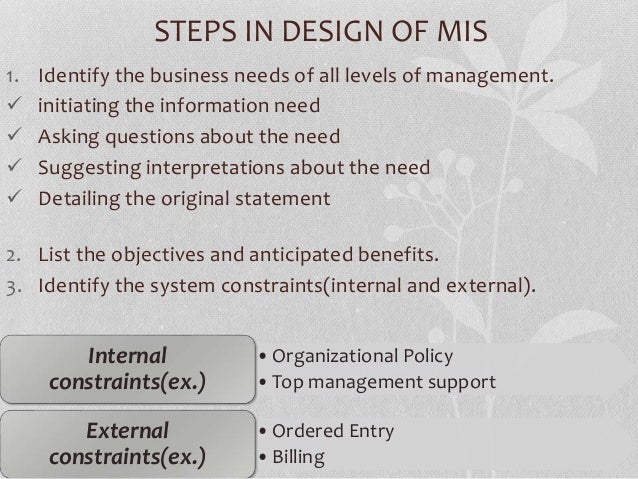 Unit 3 Management Information System