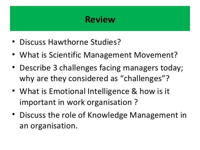 contribution of hawthorne study or experiment Like the hawthorne effect, the definition of the hawthorne experiments also varies most industrial/occupational psychology and organizational behavior textbooks refer to the illumination.