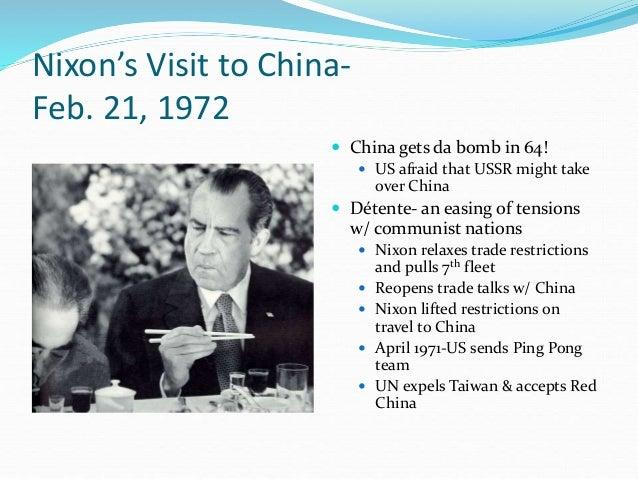 nixon diplomacy triangular china iv unit visit 1972 kissinger bio communist