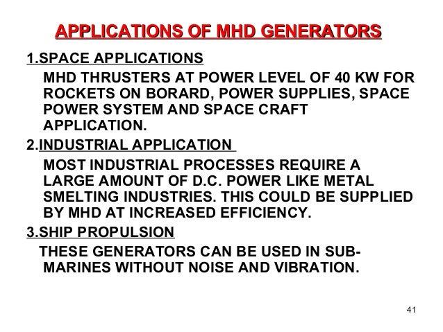 MHD wind energy conversion