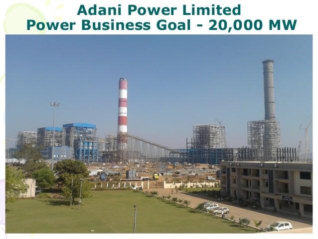 Adani Power Limited Power Business Goal - 20,000 MW