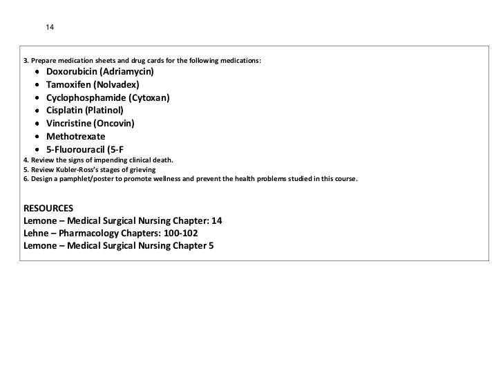 143. Prepare medication sheets and drug cards for the following medications:       Doxorubicin (Adriamycin)       Tamoxife...