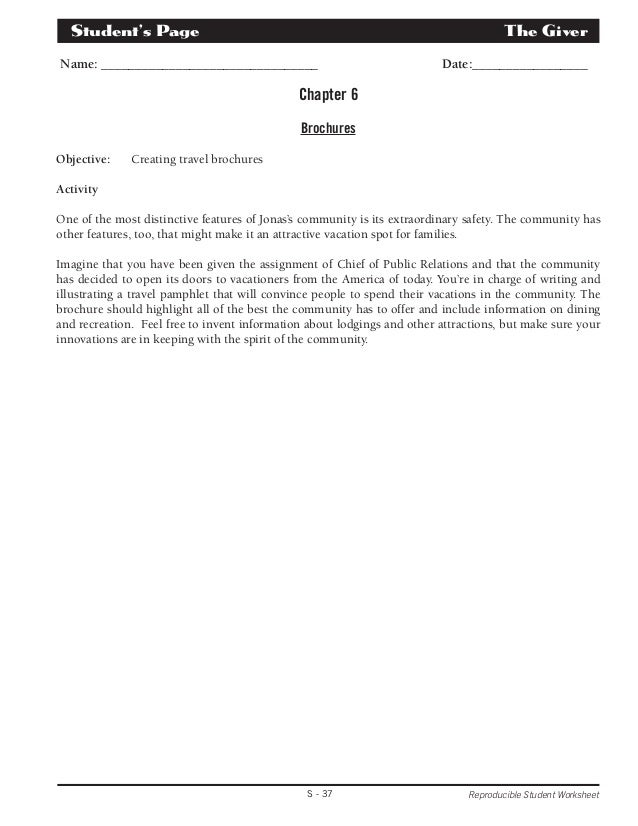 Unit plan and quizzes – Reproducible Student Worksheet