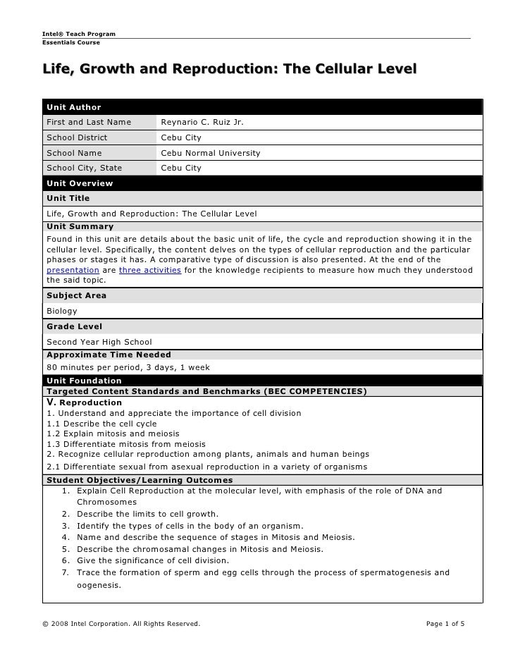 Unit plan template - filled