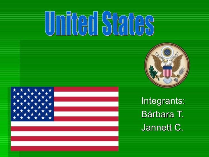 Integrants:Bárbara T.Jannett C.