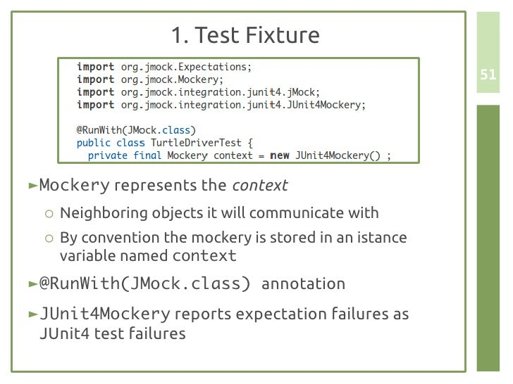 Unit testing and scaffolding