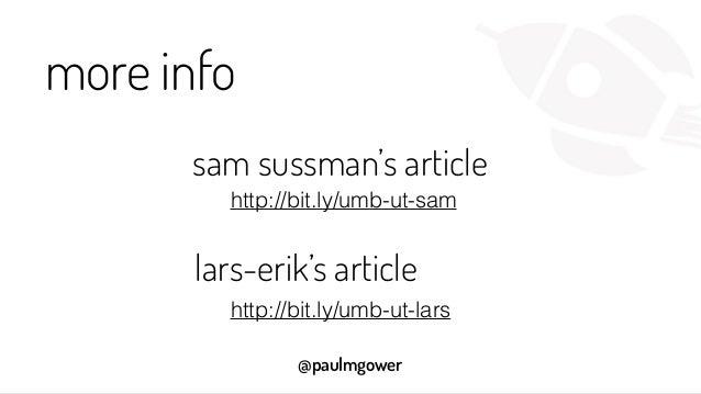 @paulmgower more info sam sussman's article lars-erik's article http://bit.ly/umb-ut-sam http://bit.ly/umb-ut-lars