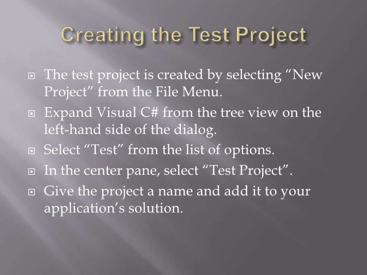 How to be a good essay write unit tests