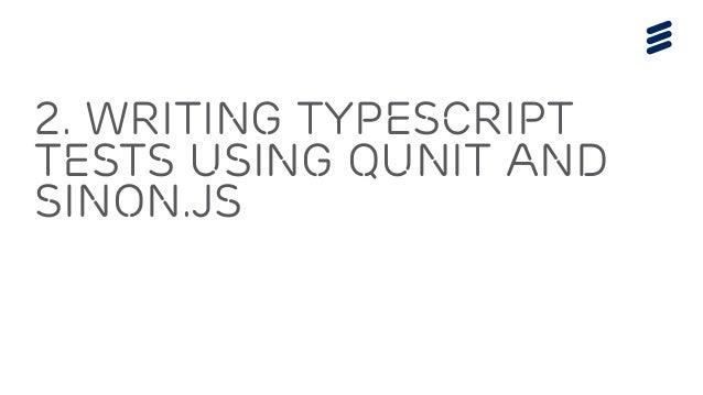 Unit Testing TypeScript