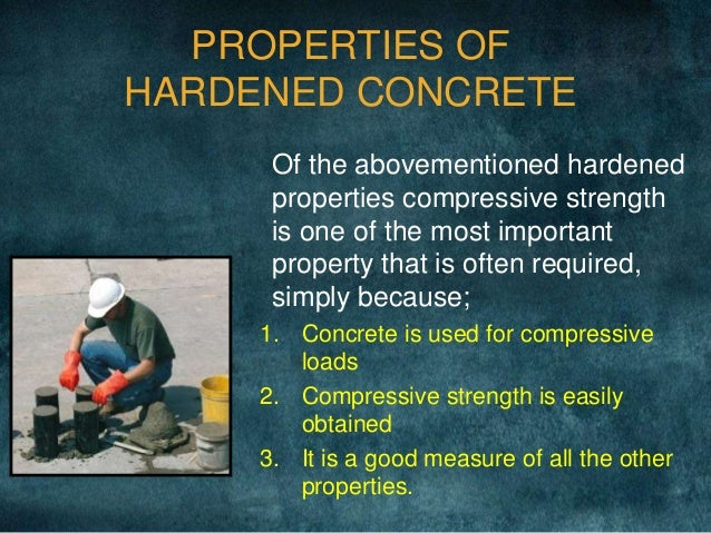 properties of fresh concrete pdf