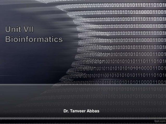 Dr. Tanveer Abbas