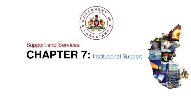 Unit vii institutional support Slide 2