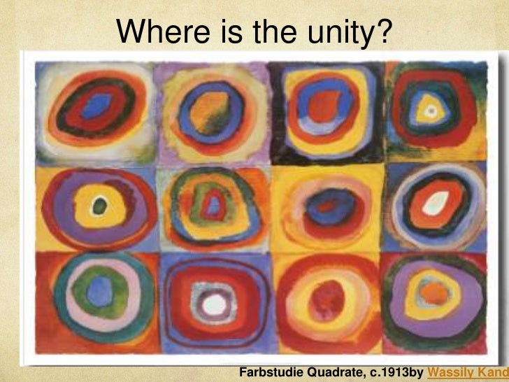 Unity in Art