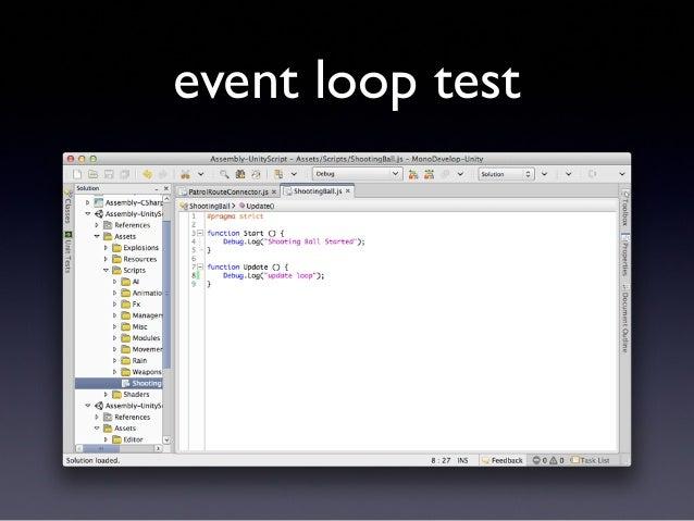 event loop test