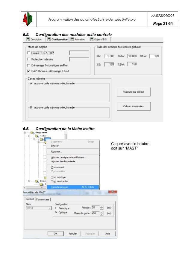 AMS720090001 Programmation des automates Schneider sous Unity-pro Page 22/54 7. LES FONCTIONS DANS LA BIBLIOTHEQUE Il y a ...