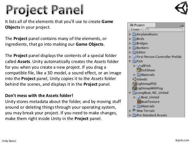 Unity 3d Basics