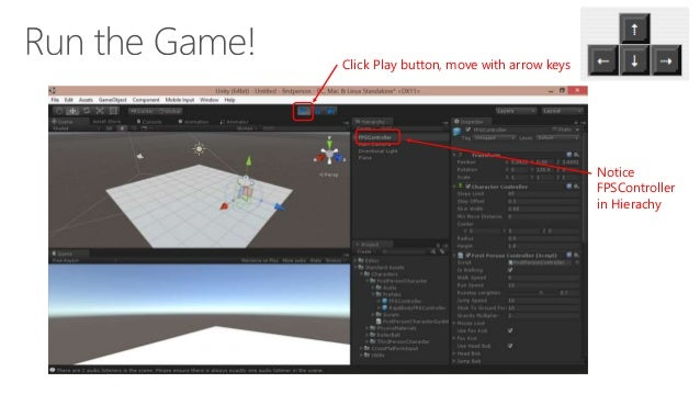 Unity 5: First-Person Tutorial