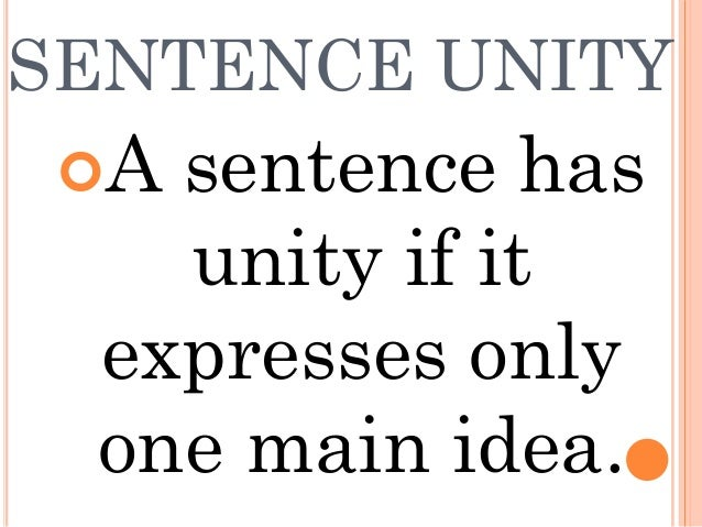 example of unity coherence and emphasis For example, short paragraphs are used in newspaper stories where the emphasis is on reporting  to test the unity of your paragraphs,  paragraph coherence.