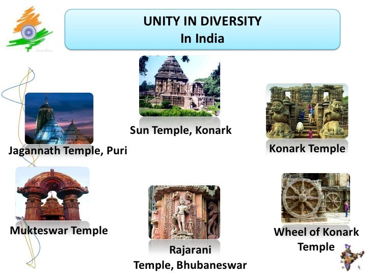 india a symbol of unity in diversity The indian constitution, though euro-american in appearance, is native in its spirit this nativity is reflected in several of its provisions, and the vision of.