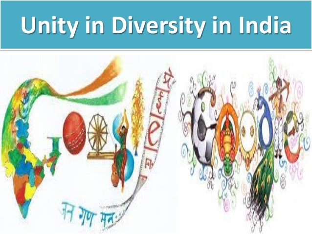 India as an example of unity and diversity