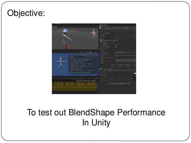 Unity Morph performance test