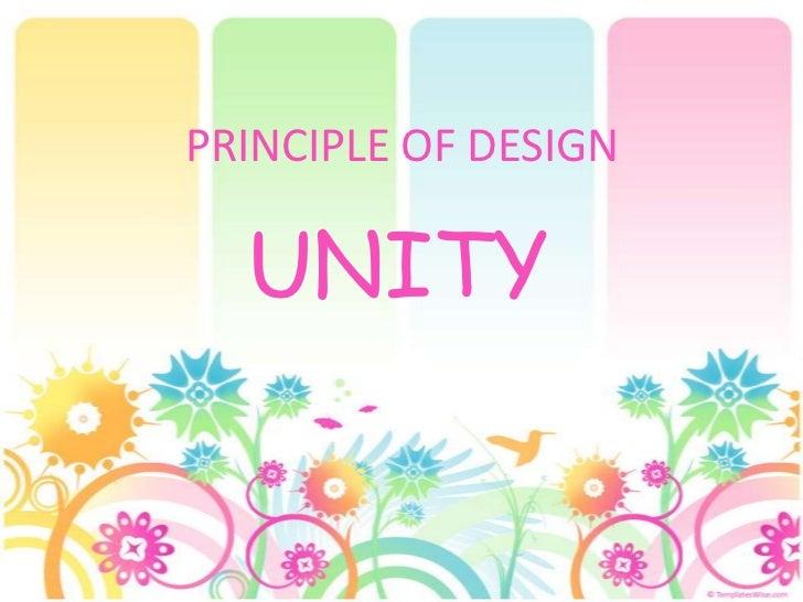 Principles Of Design Unity : Unity sad
