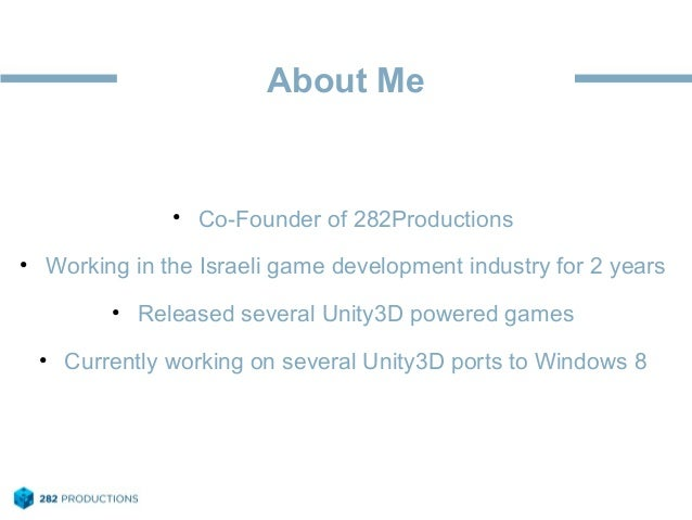 Migrating Unity3D projects to Windows 8