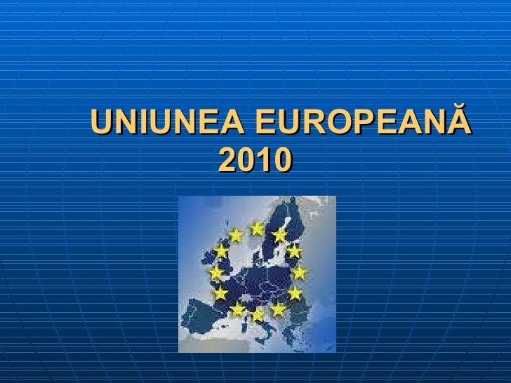 Obiective uniunea europeana