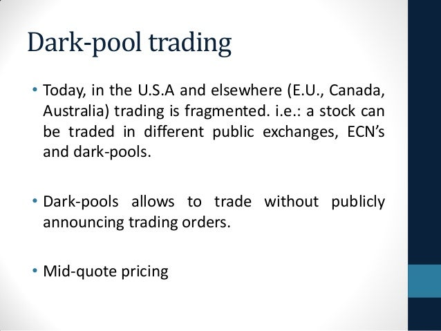 An analysis of the pool