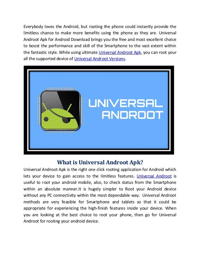 Universal androot (1)