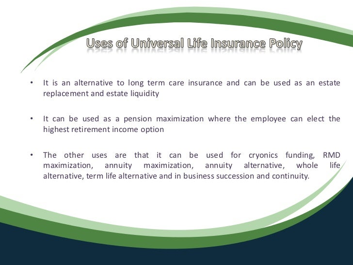 Universal life-insurance-uses-and-benefits