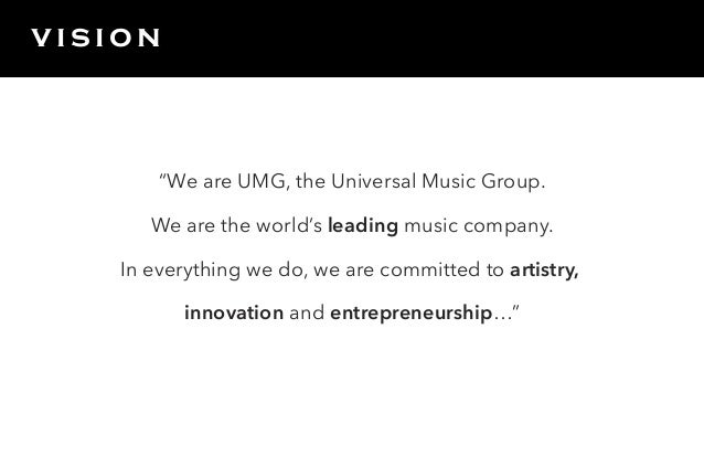 universal music group swot analysis