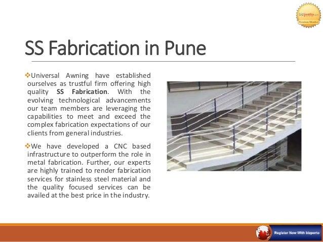 Universal Awning Brochure Pune