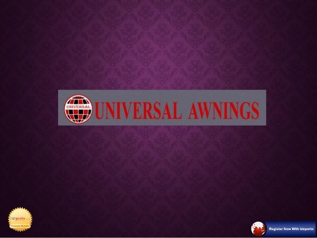 Universal Awning Manufacturer In Pune