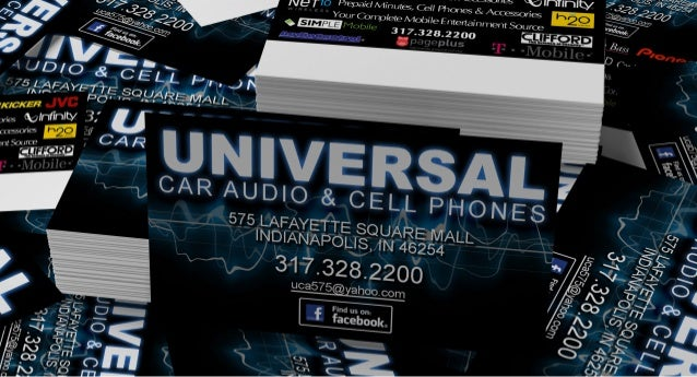 Universal car audio business card design universal car audio business card design i0 c d 5 ii i i c e l 4l jr reheart Image collections