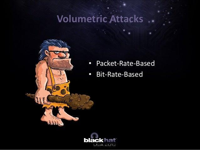Volumetric Attacks • Packet-Rate-Based • Bit-Rate-Based