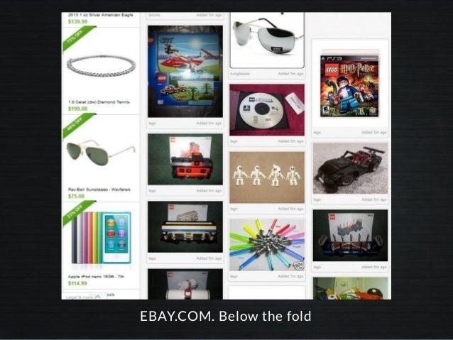 EBAY.COM. Below the fold