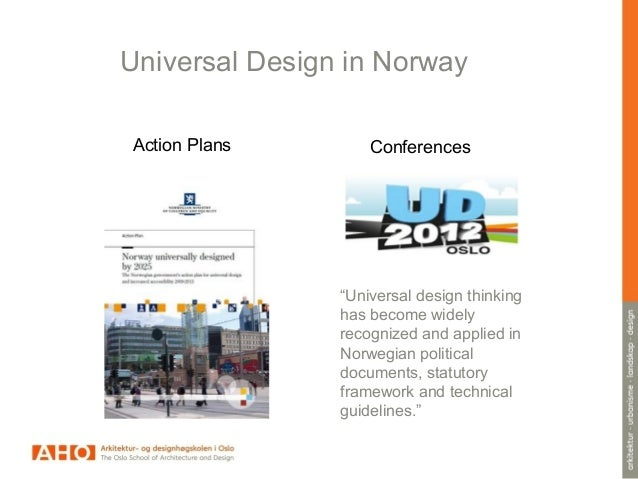 Universal Design Classroom Examples : Universal design w architectural examples