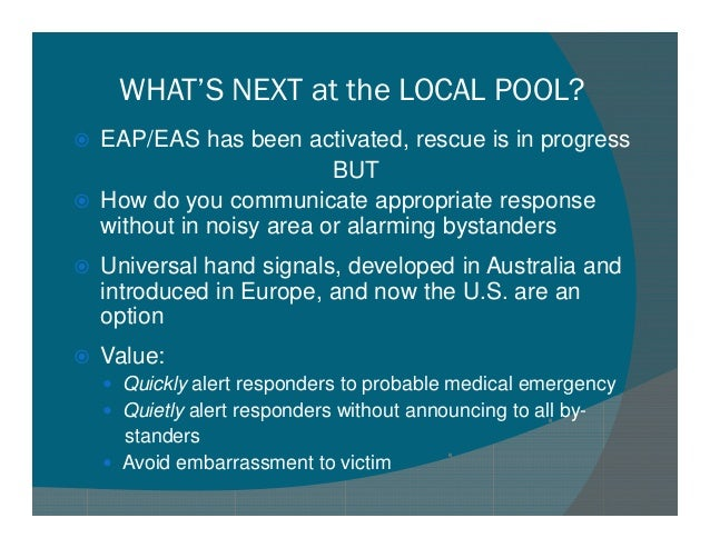 Universal Emergency Handsignals
