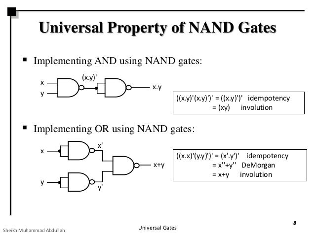 nor gate as universal gate pdf