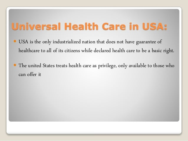 basics of us healthcare system pdf