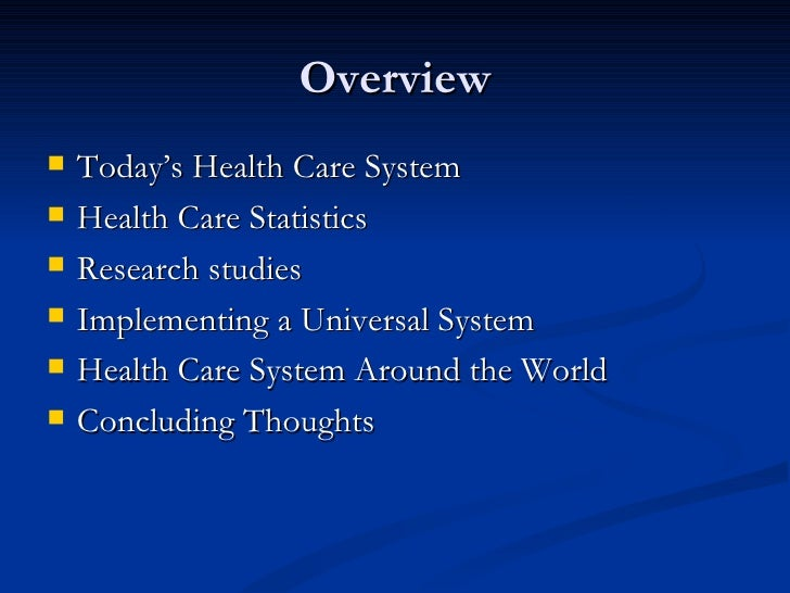 a research on the health care system in the united states The us healthcare system notched another dubious honor in a new comparison of its quality to the systems of 10 other developed countries: its rank was dead last the new study by the.