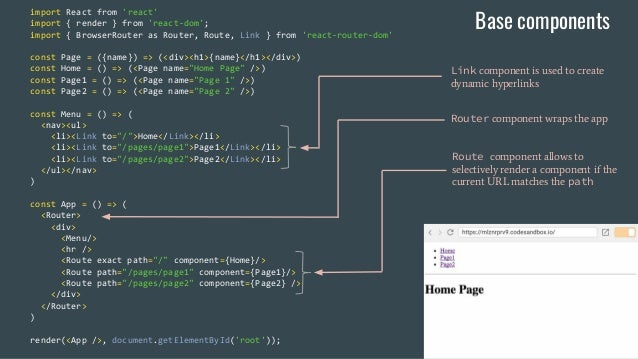 Universal JS Web Applications with React - Web Summer Camp 2017, Rovi…